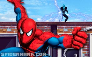 Spiderman's Motorcycle: Ultimate Spider Cycle Game